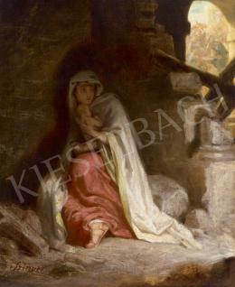 Szinyei Merse Pál - Bibliai jelenet (A betlehemi gyermekgyilkosság), 1866
