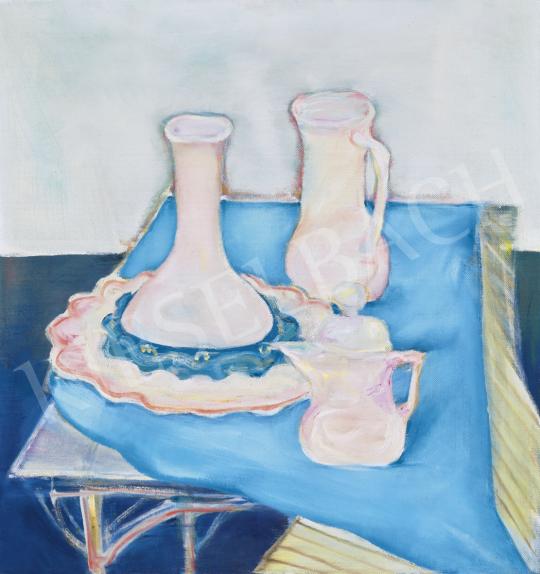 Kazovszkij, El - Műtermi csendélet (Hommage á Morandi), 1970-es évek | 61. Tavaszi Aukció aukció / 28 tétel