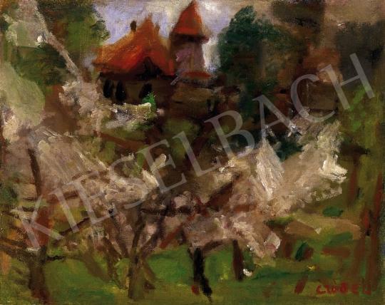 Czóbel Béla - Virágzó almafák, 1935 körül | 13. Aukció aukció / 8 tétel