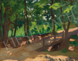 Ferenczy, Károly - Jókai Hill (Landscape with Bridge I.), 1906