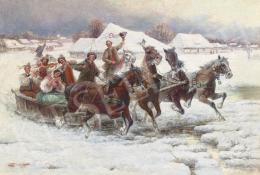 Stojanov, Pjotr - Esküvői lovasszán