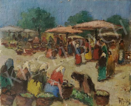 For sale Unknown painter - Market Scene 's painting