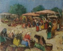 Unknown painter - Market Scene