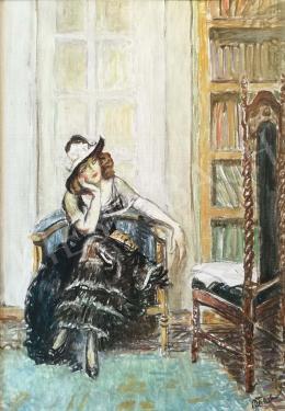 Márk Lajos - Kalapos lány