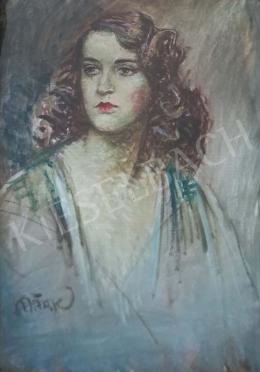 Márk Lajos - Barna hajú lány