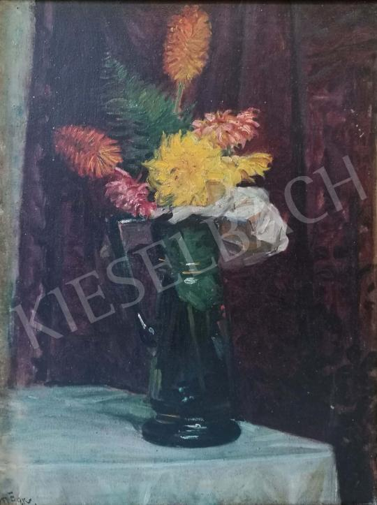 For sale Márk, Lajos - Still Life with Flowers 's painting