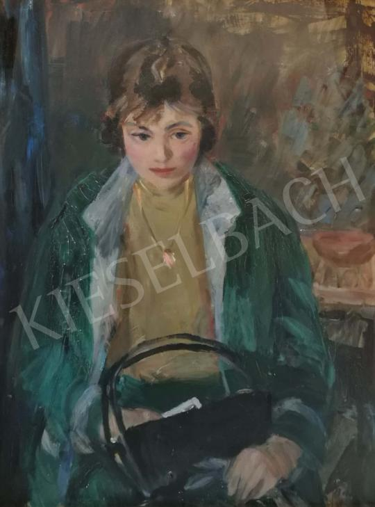 For sale Balogh, András - Girl with bag 's painting