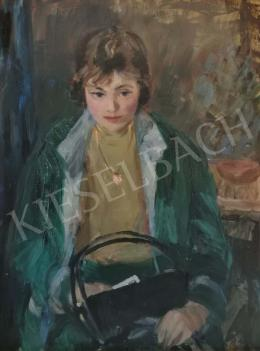 Balogh András - Lány táskával