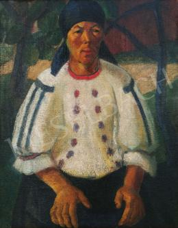 Szaday, Lajos - Woman in traditional costume