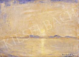 Iványi Grünwald, Béla - Sunset over Badacsony