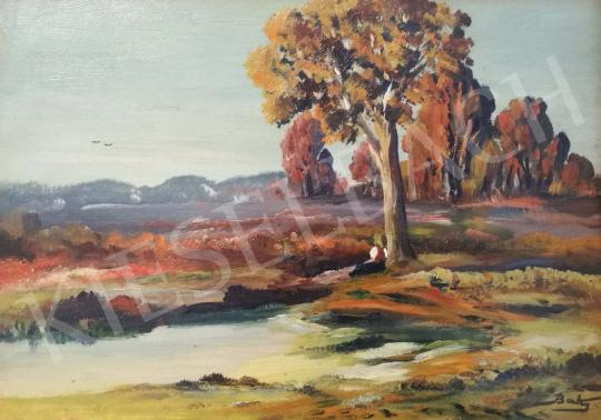 For sale Baky, Albert - View of Autumn Grove 's painting
