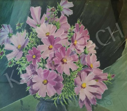 For sale Lampé, Sándor - Purple Flowers 's painting