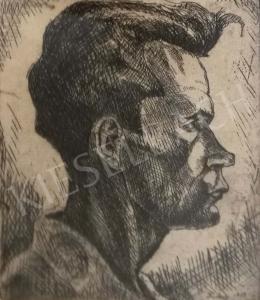 Dési Huber István - Önarckép
