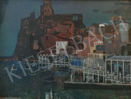 Demjén Attila - Olasz kikötő, 1969