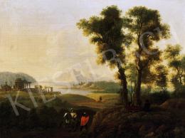 Ismeretlen olasz festő, 18. század - Vándorok