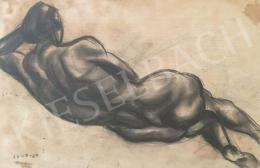Korb, Erzsébet - Lying Female Nude