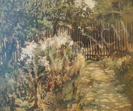 Eladó Boemm Ritta - Napsütötte kert festménye