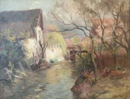 Kárpáthy, Jenő - Spring by the Brookside