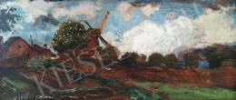 Magyar Mannheimer, Gusztáv - Dutch Landscape with Mill