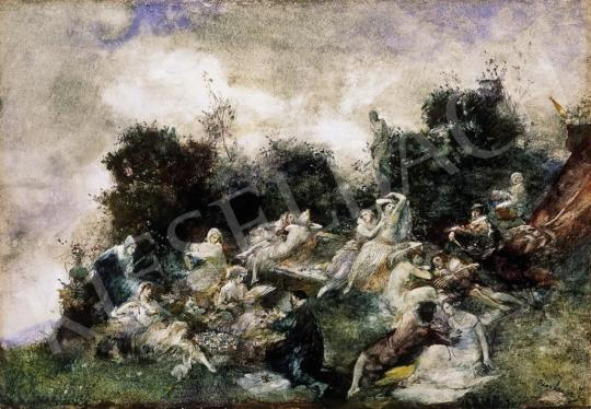 Larsen, Oscar - A szerelem kertje | 13. Aukció aukció / 19 tétel