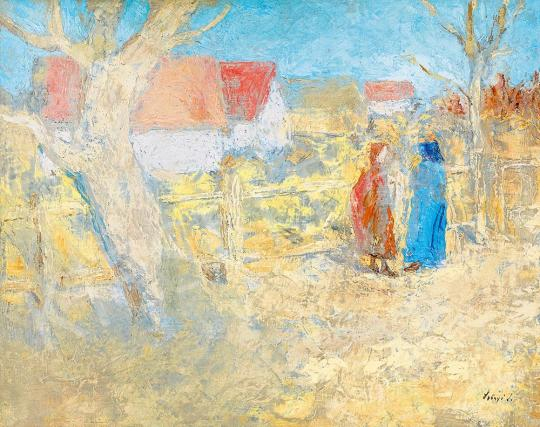 For sale  Szőnyi, István - Early Spring 's painting