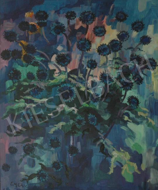 For sale  Emeric - Les chardonnets bleues 's painting