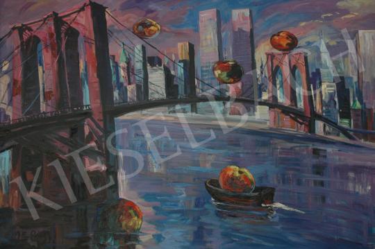 Eladó  Emeric - Brooklyn híd, 1985 festménye