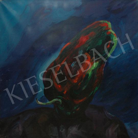 Eladó  Emeric - A zöld paprika, 1988 festménye