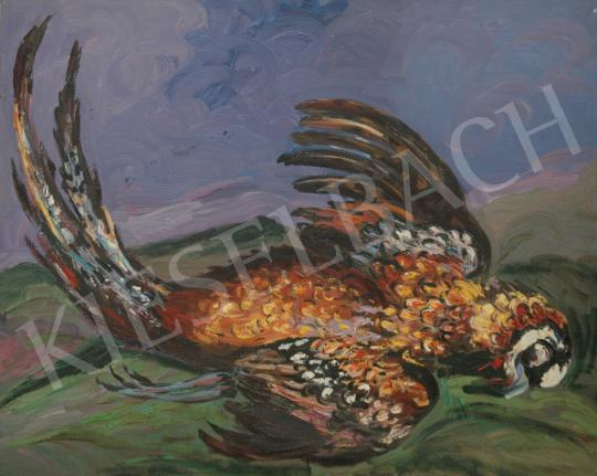 For sale  Emeric - Multicolored feathered pheasant 's painting