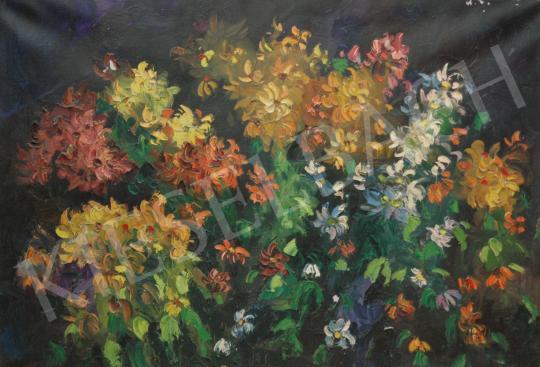 Eladó  Emeric - Tavaszi tarka virágcsokor festménye