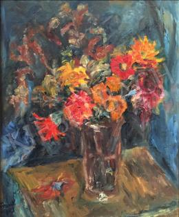 Frank, Frigyes - Still life with flowers
