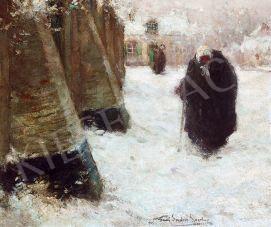 For sale  Spenlove Spenlove, Frank - Winter Morning, 1933 's painting
