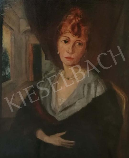 For sale  Ernst (Philip) Stadelmann - Woman portrait 's painting