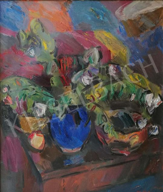 For sale Nagy, Előd - Still Life with Flowers 's painting