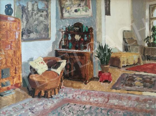 For sale Biai-Föglein, István - The artist's studio 's painting