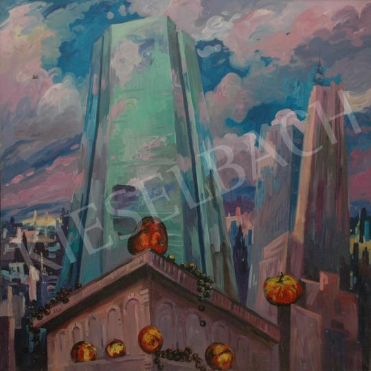 For sale  Emeric - Park Avenue, 1985 's painting