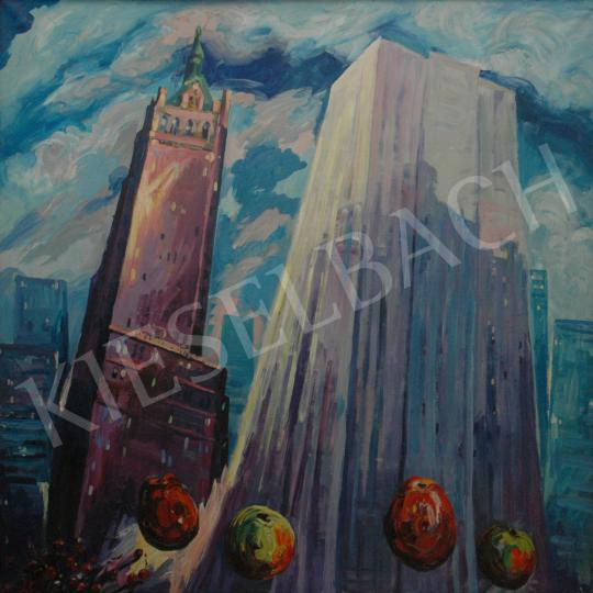 For sale  Emeric - General Motors Building, 1985 's painting