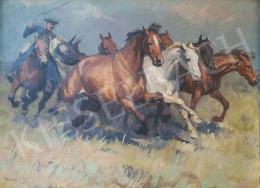 Viski János - Vágtató lovak