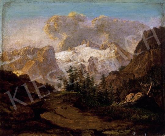 Ligeti Antal - Alpesi táj | 13. Aukció aukció / 30 tétel
