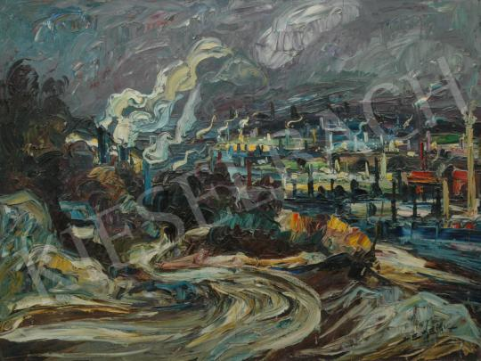 For sale  Emeric - Hudson, 1960 's painting