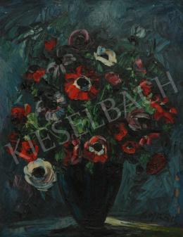 Emeric - Tulipánok kék vázában
