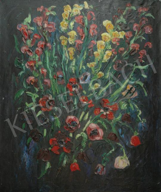For sale  Emeric - Flower bouquet without a vase, 1974 's painting
