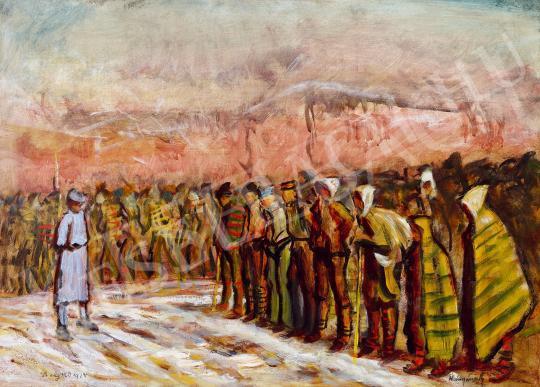 Eladó Mednyánszky László - Hadifoglyok festménye