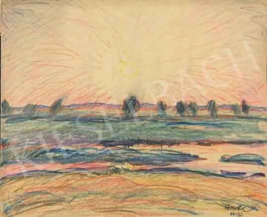 For sale Huzella, Pál - Sunset (Dunaharaszti), 1923 's painting