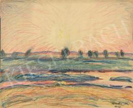Huzella Pál - Napnyugta (Dunaharaszti), 1923