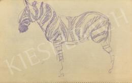 Huzella Pál - Zebra