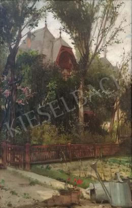Berkes, Antal - Summer house between the foliage (1903)