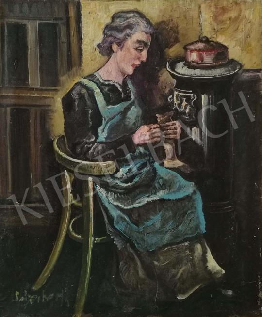 For sale  Scheiber, Hugó - Seamstress 's painting