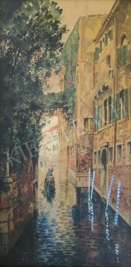 Scharl, Artúr - Venice Gondolier