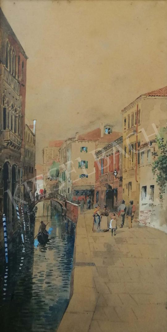 For sale Scharl, Artúr - Venice street 's painting